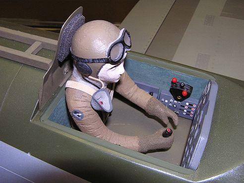 Kokpit P-47 Thunderbolt