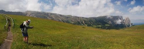 Seiser Alm - Panorama