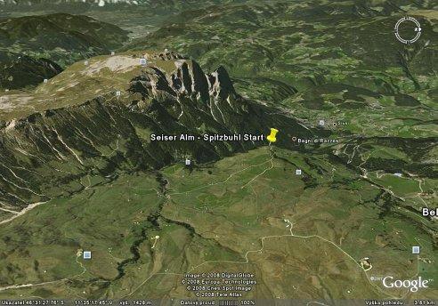 Seiser Alm Google Maps
