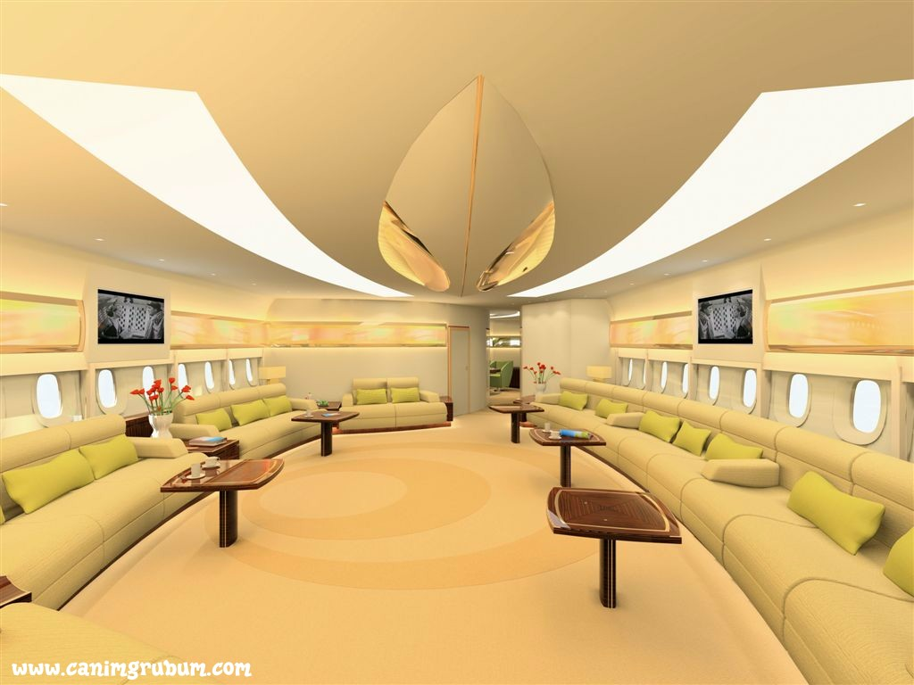 Most Expensive Private Jet Interiors