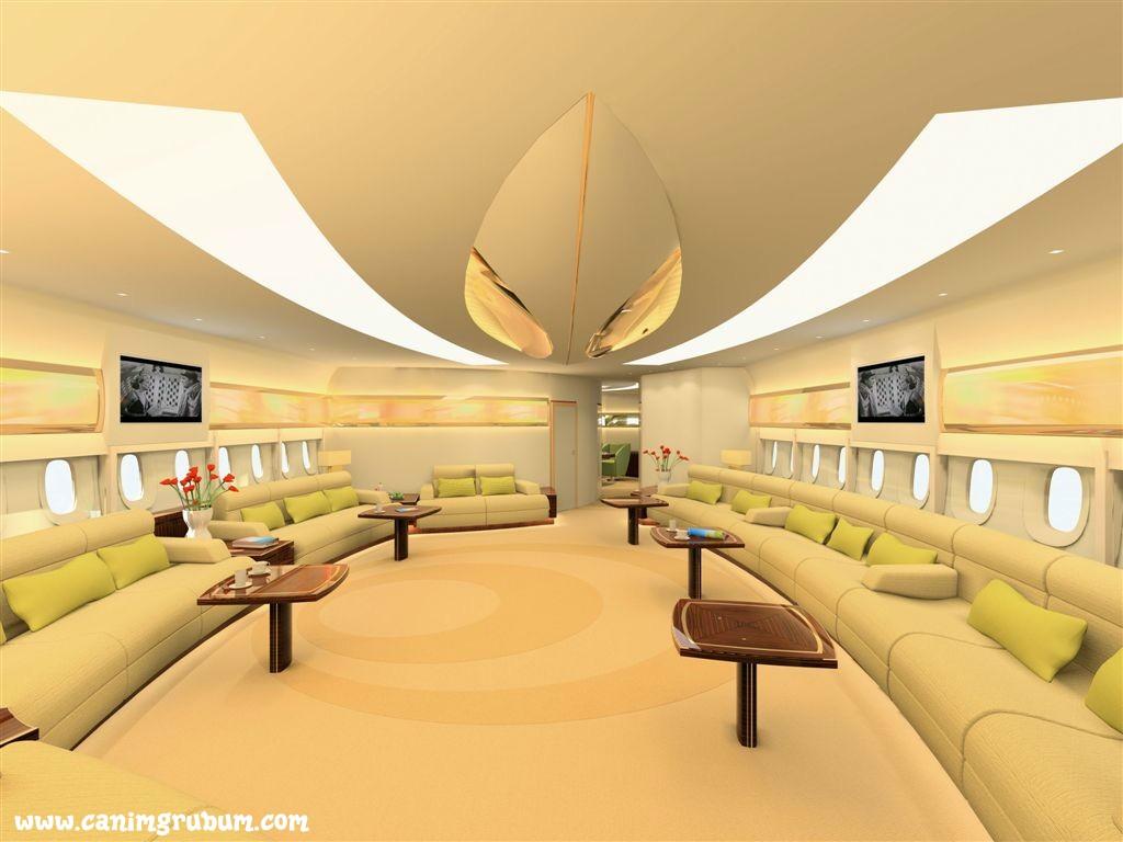 Airbus A380 Fotografie Luxusnho VIP Interiru At WwwPiNacz