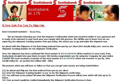 Scotiabank Scam