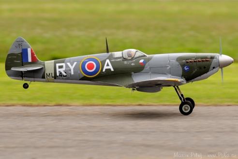 Spitfire na MOAS v Rakovníku 2010
