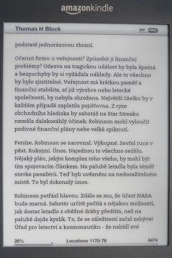 Kindle 3 Margin