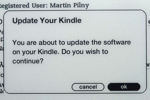 Kindle Firmware Update