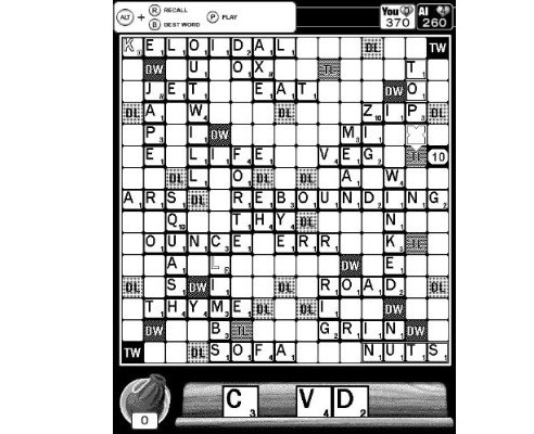 Kindle Scrabble