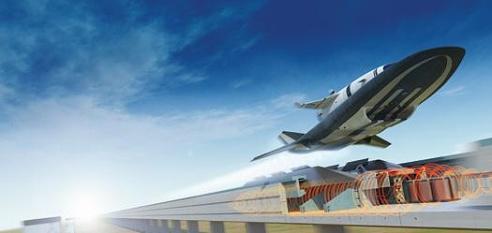 Space Rail Gun