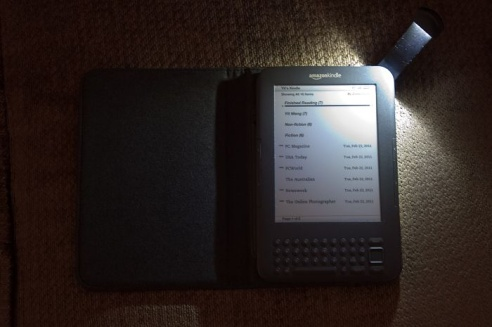 Amazon Kindle Lighted Cover