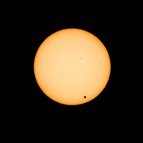 Prechod Venuse Pres Slunce 6.6.2012