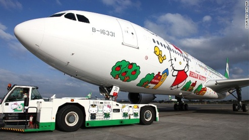 Hello Kitty A330
