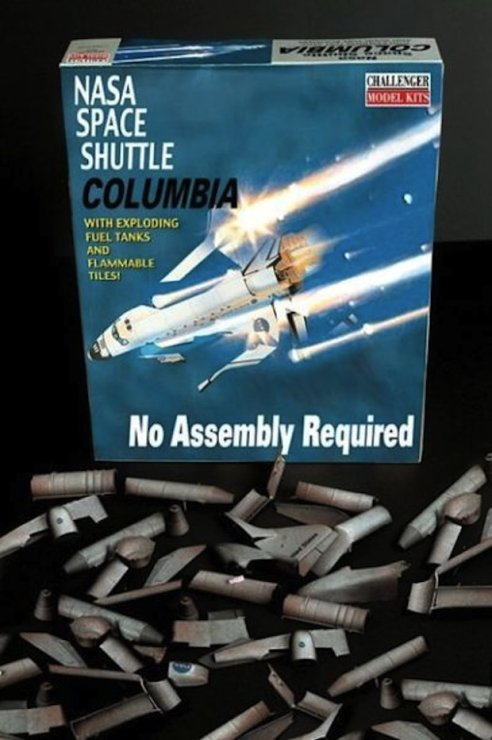NASA Space Shuttle Columbia