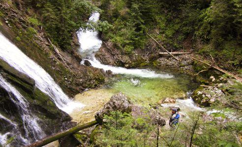 Vodopády nad Tauplitz