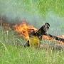 F3X Vertigo v plamenech