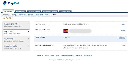 Paypal kurzy