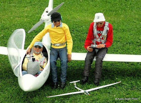 Figurky pilotů