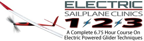 Electric Sailplane Clinic 1+2+3
