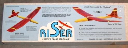 Větroň Sig Riser
