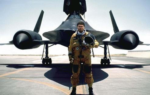 Brian Shul a jeho SR-71 Blackbird