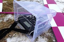 Ochranný obal na vysílač