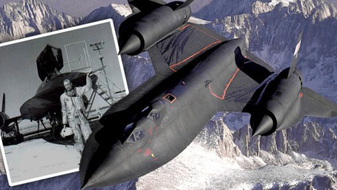 Bill Weaver a jeho SR-71
