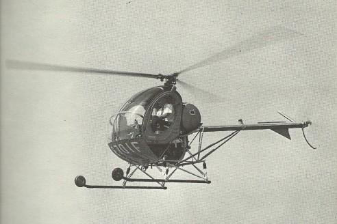Vrtulník Hughes 269A