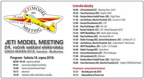 Jeti Model Meeting 2018