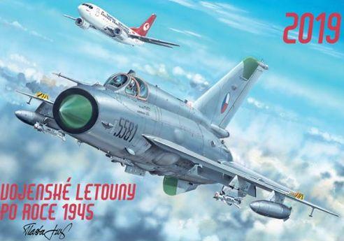 Letecký kalendář - Vojenské letouny 2019