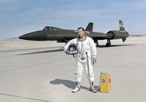 YF12A Blackbird / NASA Photo ECN-2978