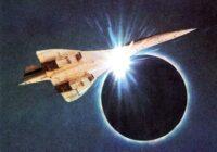 Concorde 001 Eclipse Shot